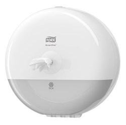 Диспенсер для туалетной бумаги Tork SmartOne® Elevation в мини-рулонах (681000) - фото 9240
