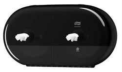 Диспенсер двойной для туалетной бумаги Tork SmartOne® Elevation в мини-рулонах (682008) - фото 9253