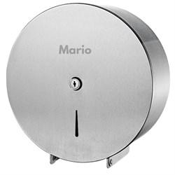 Диспенсер для туалетной бумаги металл матовый Mario 9907 - фото 9260