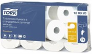 Туалетная бумага в стандартных рулонах для диспенсеров Tork Premium мягкая (120320)