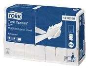Бумажные листовые полотенца Tork Xpress® Advanced сложения Multifold мягкие (120288)