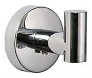 Крючок одинарный настенный металлический D281100
