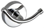 Крючок двойной настенный металлический