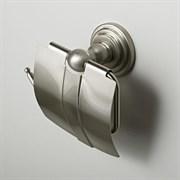 Держатель туалетной бумаги с крышкой WasserKRAFT (Ammer К-7025)