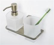 Держатель стакана и дозатора WasserKRAFT (Exter К-5289)