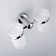 Подстаканник двойной стеклянный WasserKRAFT (Donau K-9428D)