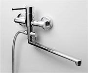 Смеситель для ванны с длинным поворотным изливом WasserKRAFT (Main 4102L)