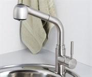 Смеситель для кухни с выдвижной лейкой WasserKRAFT (Wern 4266)