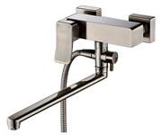 Смеситель для ванны с длинным поворотным изливом WasserKRAFT (Exter 1602L)