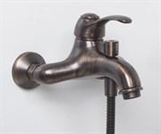 Смеситель для ванны с коротким изливом WasserKRAFT (Isar 1301)