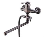 Смеситель для ванны с длинным поворотным изливом WasserKRAFT (Isar 1302L)