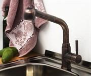 Смеситель для кухни с выдвижной лейкой WasserKRAFT (А8247)