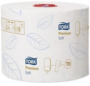 Туалетная бумага mid-size в миди-рулонах мягкая (127520)