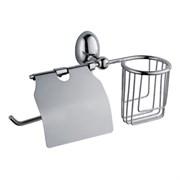 Держатель освежителя воздуха и туалетной бумаги с крышкой D-LIN (D242120)