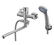 Смеситель для ванны с длинным поворотным изливом WasserKRAFT (Wern 4202L)