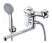 Смеситель для ванны с длинным поворотным изливом WasserKRAFT (Vils 5602L)