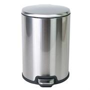 Урна для мусора Soft close плавное опускание крышки (12 литров) хром