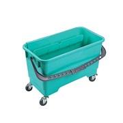 Ведро пластиковое на колесах 20 литров с отжимом UCTEM PLAS CK103