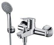Смеситель для ванны с коротким изливом WasserKRAFT (Rhin 4401)
