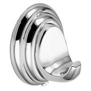 Крючок одинарный настенный металлический хром D281310