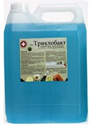 Жидкое крем-мыло для рук с дезинфицирующим эффектом (триклобакт)