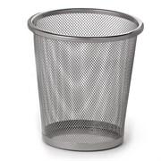 Ведро-корзина офисное пластиковое для мусора 15 л. сетчатое металл.