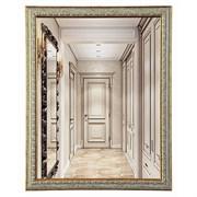 Зеркало в узорной рамке горизонтальное или вертикальное 40*50*3 см  (50*40*3 см)