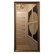 Зеркало в узорной рамке горизонтальное или вертикальное 60*110*5 см (110*60*5 см)