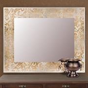 Зеркало 80*60 см с золотым орнаментом
