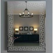 Зеркало 51.8*73 см с серебрянным орнаментом
