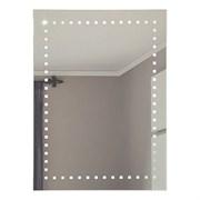 Зеркало 60*80 см с внутренней подсветкой с пескоструйным орнаментом