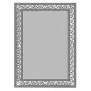 Зеркало 50*70 см с тонированным матированным рисунком