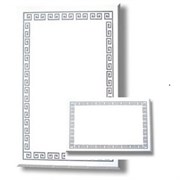 Зеркало с матированным рисунком горизонтальное или вертикальное 80x50 (50x80)