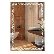 Зеркало 55*80 см с матированным рисунком