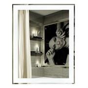 Зеркало 53.5*68 см комбинированное с фацетом
