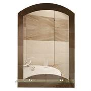 Зеркало 40*58.5 см с тонированным зеркалом и полочкой 40 см