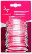 Кольца пластиковые для штор -12 шт (прозрачные)