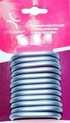 Кольца пластиковые для штор -12 шт (серые)