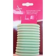 Кольца пластиковые для штор -12 шт (зеленые)