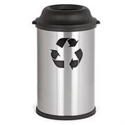 Бак для мусора 50л матовый