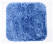 Коврик для ванной комнаты 55*57см WasserKRAFT Dark Blue (Wern BM-2504)
