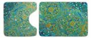 Комплект ковриков для ванной (2 предмета) 70х50 50х50 (KECE Shangri la)
