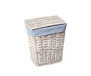 Плетеная корзина для белья с крышкой WasserKRAFT (Lippe WB-450-M)