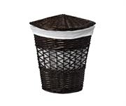 Плетеная корзина для белья с крышкой WasserKRAFT (Salm WB-270-M)