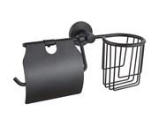 Держатель освежителя воздуха и туалетной бумаги с крышкой D-LIN (D242111)
