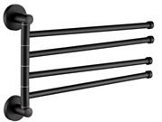 Держатель для полотенец поворотный 4 рога (D255111)