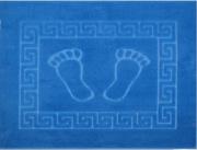 Коврик для ванной 50х70 см FOOT (голубой)