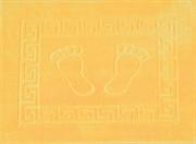 Коврик для ванной 50х70 см FOOT (оранжевый)