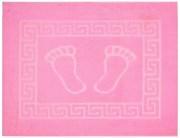 Коврик для ванной 50х70 см FOOT (розовый)