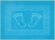Коврик для ванной 50х70 см FOOT (светло-голубой)